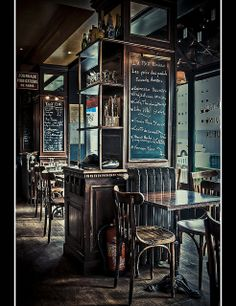 hotel concept Best Table For The Finest Dining Experiences - Paris Pub Interior, Restaurant Interior Design, Cafe Shop, Cafe Bar, Brasserie Paris, Trattoria Italiana, Café Theatre, Bistro Decor, Pub Sheds