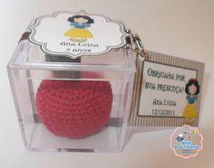 Lembrancinha na caixinha de acrilico com elementos do tema escolhido, perfeita para aniversário ou nascimento.