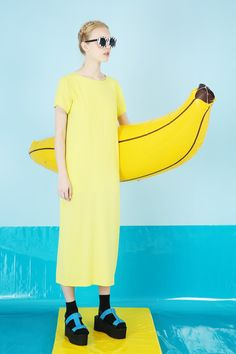 Long T-Shirt Dress Neon http://www.thewhitepepper.com/collections/dresses/products/long-t-shirt-dress-neon T-strap Flatform Sandal COMING SOON!