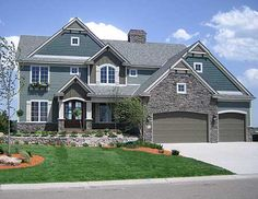 Plan No: W73271HS Style: Craftsman, Northwest Total Living Area: 3,968 sq. ft.