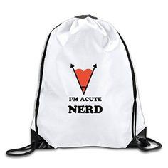 136ed6c741 I m Acute Nerd Drawstring Backpack Sport Bag Travel Backpack
