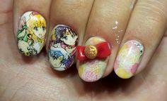 セーラームーン : Character nail art