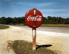 Highway, US 78, Burnsville, MS, 1978 Photographer Jim Dow (via Robert Klein Gallery)