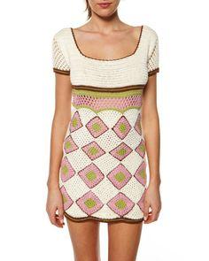 Crotchet Diamond dress, AU$145.99 by Palma, from Surfstitch, Australia.