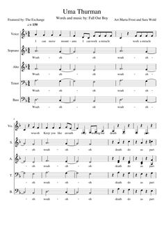 Sheet music made by martafrost for 5 parts: Voice, Soprano, Alto, Tenor, Bass