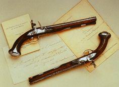 Visit Fort Ligonier and see amazing pieces of history like George Washington's saddle pistols.