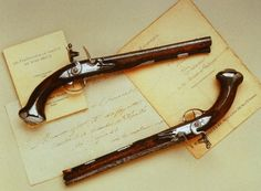 Pistols given to George Washington by Marquis de Lafayette, were sold at auction for the bargain price of $2 Million! They are now on display in Pennsylvania at Fort Ligonair.