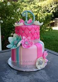 Image Result For 10 Year Old Nail Birthday Cake Ideas For A Girl Beautiful Birthday Cakes Bling Cakes Girly Birthday Cakes