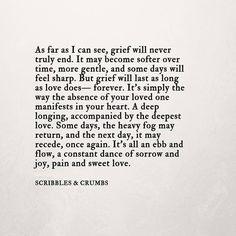 Grief | Scribbles & Crumbs