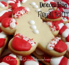 Decorating Cookies with Royal Icing Tutorial from @chocolatechocolateandmore