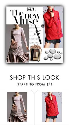 """""""The new muse"""" by fatimka-becirovic ❤ liked on Polyvore featuring POL, vintage, blouse and dezzal"""