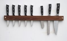 Walnut Knife Rack – Meriwether of Montana