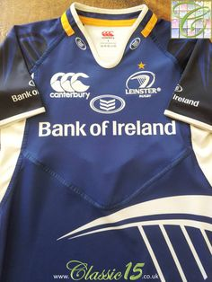 b944a0ec2ee Relive Leinster's 2012/2013 season with this vintage Canterbury home Pro  rugby shirt. Leinster