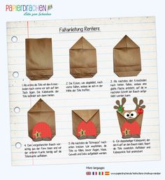 Advent calendar DIY set Reindeer for filling - with brown belly for DIY - with 24 bags for individua Christmas Birthday, Diy Christmas Gifts, Christmas Holidays, Frozen Birthday, Holiday Crafts, Christmas Themes, Advent Calenders, Diy Advent Calendar, Countdown Calendar