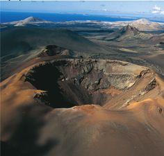Volcán Timanfaya, Lanzarote. España.