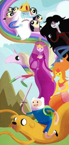 Adventure Time: Finn and Jake by SketchprinterDemon on DeviantArt Marceline, Adventure Time Cartoon, Adventure Time Finn, Family Adventure, Fin E Jake, Life Is Strange, Cartoon Network, Gumball, Land Of Ooo