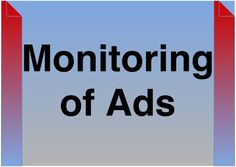 Monitoring of Ads with CTR, CPM, CPA, CPC and ROI