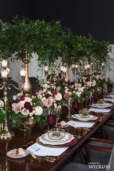 Centerpieces - Wedding Decor Toronto Rachel A. Decoration Table, Reception Decorations, Table Centerpieces, Event Decor, Wedding Centerpieces, Wedding Table, Maroon Wedding, Burgundy Wedding, Wedding Colors