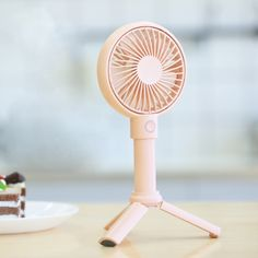 Benks Portable Multi-function Handheld USB A-frame Small Fan(Pink) Designer Fans, Air Fan, Small Fan, Portable Fan, Weather Activities, Hand Held Fan, Electric Fan, Pop Up Advertising, Stand Design