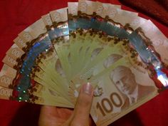 Money flows effortlessly with abundance to me Lottery Winner, Winning The Lottery, Money Pictures, Money Pics, Cash Money, Jackpot Winners, Gold Reserve, Canadian Dollar, Money Stacks