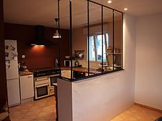 Verriere on pinterest atelier restored farmhouse and - Cuisine ouverte avec verriere ...