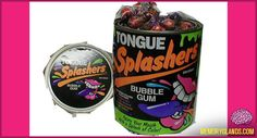 Mom had these on top of the refrigerator. Could only have them on special occasions only. Lol. If I had my way I would've eaten them all the time. Loved how they turned my mouth craaaazy colors.