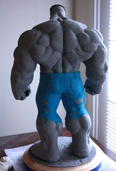 Keown Hulk back by sup3rs3d3d.deviantart.com on @deviantART