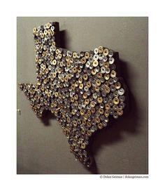 texas and shotgun shells... Could do this as Nebraska or something.