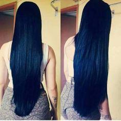 Black maxi hair