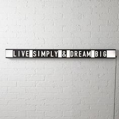 Spell out some morning motivation in this simple marquee-type fixture. Comes with multiple consonants, vowels, symbols and even a hashtag or two. type wall-table lamp is a exclusive. Black Wall Sconce, Modern Wall Sconces, Congratulations Graduate, Modern Shelving, Contemporary Lamps, Morning Motivation, Black Walls, Statements, Home Lighting