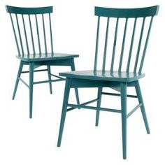 Windsor Dining Chair Wood (Set of 2) - Threshold™