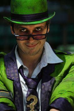 Otaku House Cosplay Idol » J&J Cosplay: The Riddler from Batman Arkham City