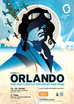 Orlando. George Frideric Handel-Composer.