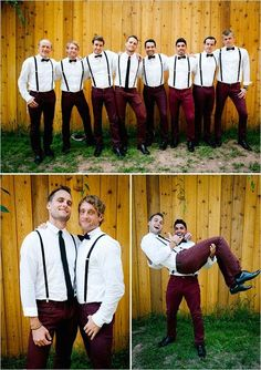 Your man will look FINE in these 35 different groom/groomsmen styles!