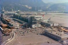 1979 - flying into Kai Tak Airport Kai Tak Airport, Those Were The Days, This Is Love, Old City, Hong Kong, Paris Skyline, Aviation, History, World