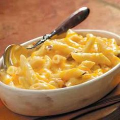 Cheddar Bacon Penne Recipe from Taste of Home
