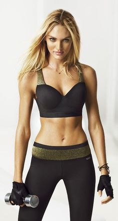 Candice Swanepoel in her workout outfit ❤️ Sporty Girls, Sport Fashion, Fitness Fashion, Fitness Outfits, Fitness Wear, Yoga Fitness, Health Fitness, Yoga Pants Photos, Gym Outfits