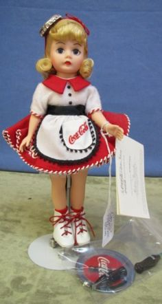 Madame Alexander Coca Cola Car Hop Doll
