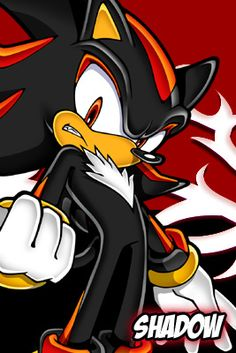 Shadow (Sonic the Hedgehog) <3