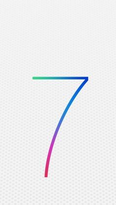 Apple iOS 7 Logo - The iPhone Wallpapers
