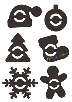 Molde para servilletas Christmas Tree Napkins, Felt Christmas Decorations, Holiday Ornaments, Christmas Stockings, Frugal Christmas, Christmas Hacks, Christmas Art, Theme Noel, Christmas Templates