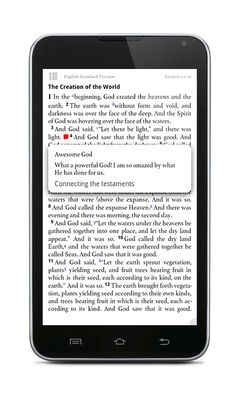 This is an awesome Bible Study App for iPhone, iPad, Android