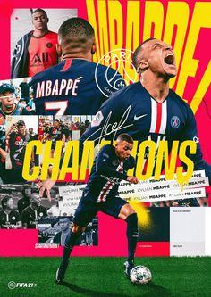 Sports Graphic Design, Graphic Design Posters, Graphic Design Inspiration, Creative Poster Design, Creative Posters, Fifa Covers, Soccer Poster, Sports Marketing, Presentation Design Template