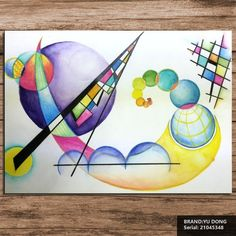Kandinskywcpencilpainting wassily kandinsky still life abstract oil wassily kandinsky abstract art Oil Painting Abstract, Painting Frames, Painting & Drawing, Wassily Kandinsky, Still Life Oil Painting, Living At Home, Phone Photography, Art Drawings, Sculptures