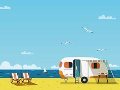 Životní styl do 80 km/h aneb Jak se bydlí v karavanu