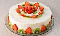 Torta di yogurt e frutta