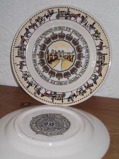 Emma Bridgewater Jubilee Pageant 6  Plate NEW Rare BEST