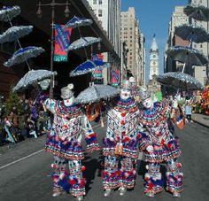 Mummers 2005 Philadelphia. my friends Uncle runs this!! philly cray