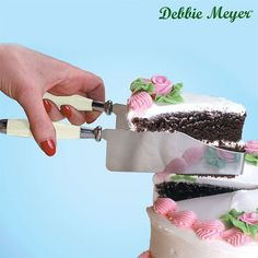I found this amazing Debbie Meyer Stainless Steel CakeCutter at nomorerack.com for 70% off. Sign up now and receive 10 dollars off your first purchase