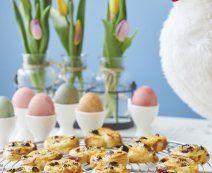 De lekkerste recepten met vers deeg - Tante Fanny Quiche, Eggs, Breakfast, Food, Morning Coffee, Essen, Quiches, Egg, Meals